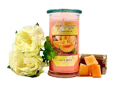 Melon & Jasmine Treasure Candle