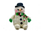 Frosty Snowman Wax Dipped Critter