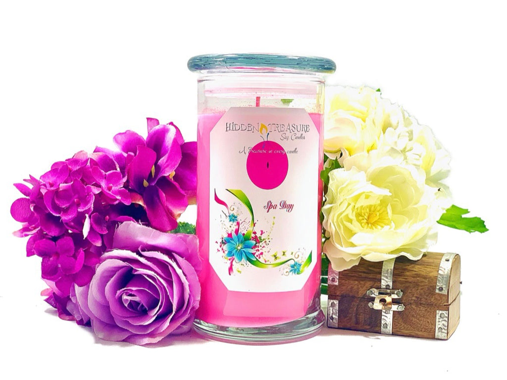 Spa Day Treasure Candle