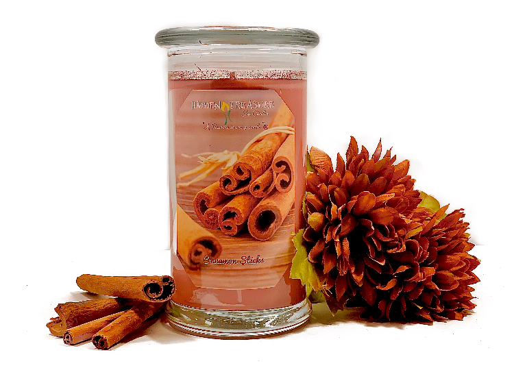 Cinnamon Stick Treasure Candle