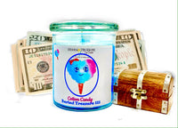 Cotton Candy Cash Candle