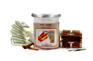 Cinnamon Twist Cash Candle