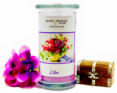 Lilac Ring Candle