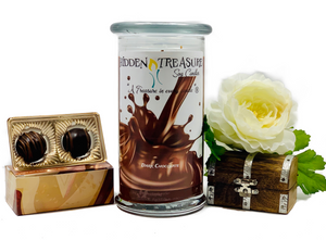 Dark Chocolate Surprise Candle