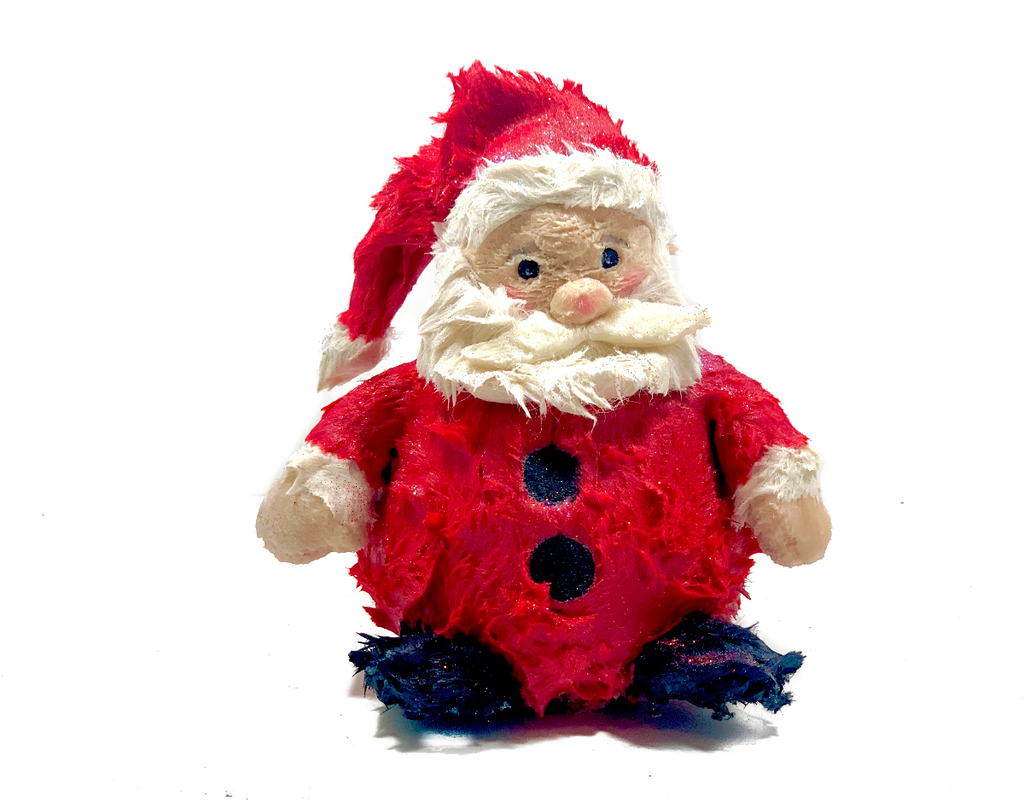 Happy Santa Wax Dipped Critter