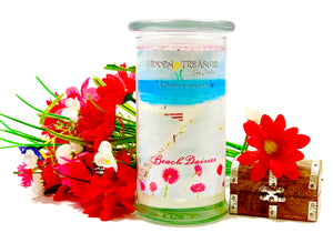 Beach Daisies Surprise Candle