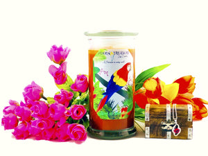 Bird of Paradise Prize  Candle