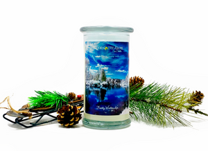Frosty Winter Air Surprise Candle
