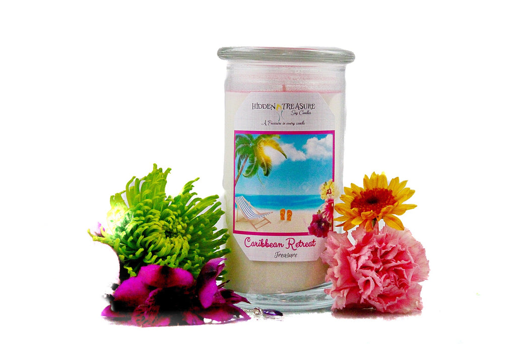 Caribbean Retreat Treasure Candle