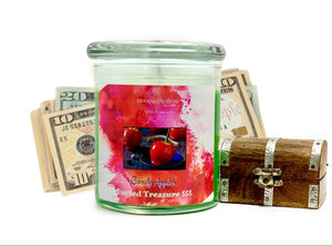 Candy Apple Cash Candle