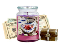 Raspberry Lilac Cash Candle