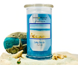 Salty Sea Air Prize Candle / Bath Bomb Set