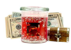 Cranberry Collins Cash Candle