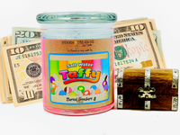 Salt Water Taffy Cash Candle