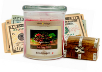 Black Cherry BOMB Cash Candle
