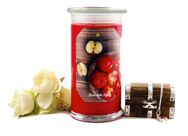 Macintosh Apple Treasure Candle