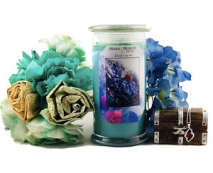 Rain Kissed Treasure Candle