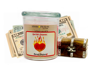 Red Hot Cinnamon Cash Candle