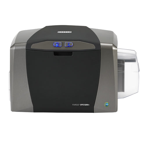 FARGO DTC1250e - ID Direct-to-Card Printer & Encoder - The fastest ID card printer in its class, produces full-color, secure ID cards and badges on-demand. - ASME Store - Access & Security Middle East