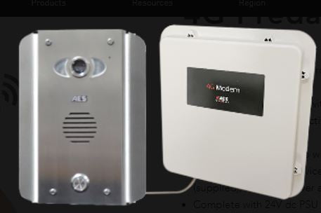 PRE2-4GE/AS Architectural Stainless 1 Button 4G GSM Video Intercom - ASME Store - Access & Security Middle East