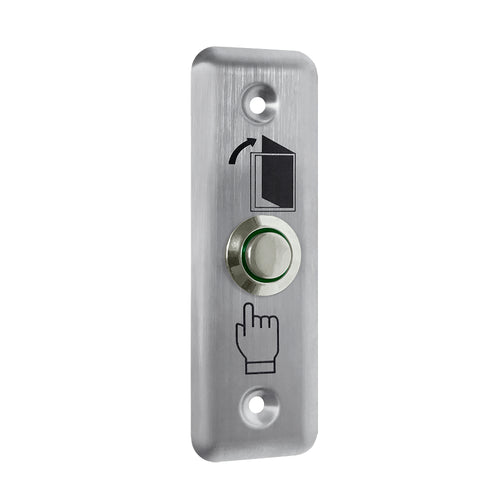 Exit button PEB-2M - Flush Mount Exit Button. Stainless steel, NO/NC, IP 65, 91x28x20mm, - 20 °? ~ + 50 °? - ASME Store - Access & Security Middle East