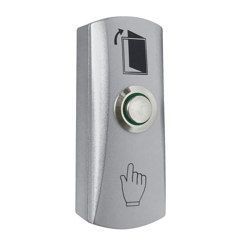 Exit button PEB-3M - Flush Mount Exit Button. Stainless steel, NO/NC, LED indication, IP 65, 91x28x20mm, - 20 °? ~ + 50 °? - ASME Store - Access & Security Middle East