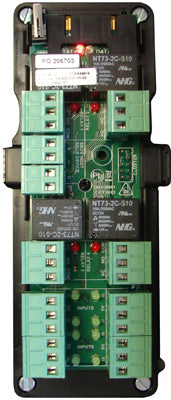 Single IO8 module (8 inputs and 8 relays) for use with a cluster controller in an IPS box - ASME Store - Access & Security Middle East
