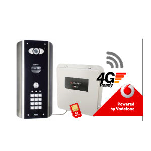 PRE2-4GE/ABK - Architectural With Keypad 1 Button 4G GSM Video Intercom - ASME Store - Access & Security Middle East