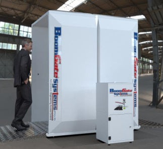 Santisation Walk Through Spray Booth - ASME Store - Access & Security Middle East