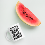 """Straight Outta the Lab"" Mug"