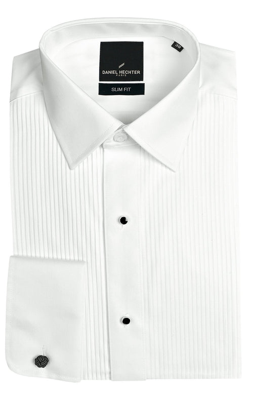 Daniel Hechter Frill White Dinner Shirt