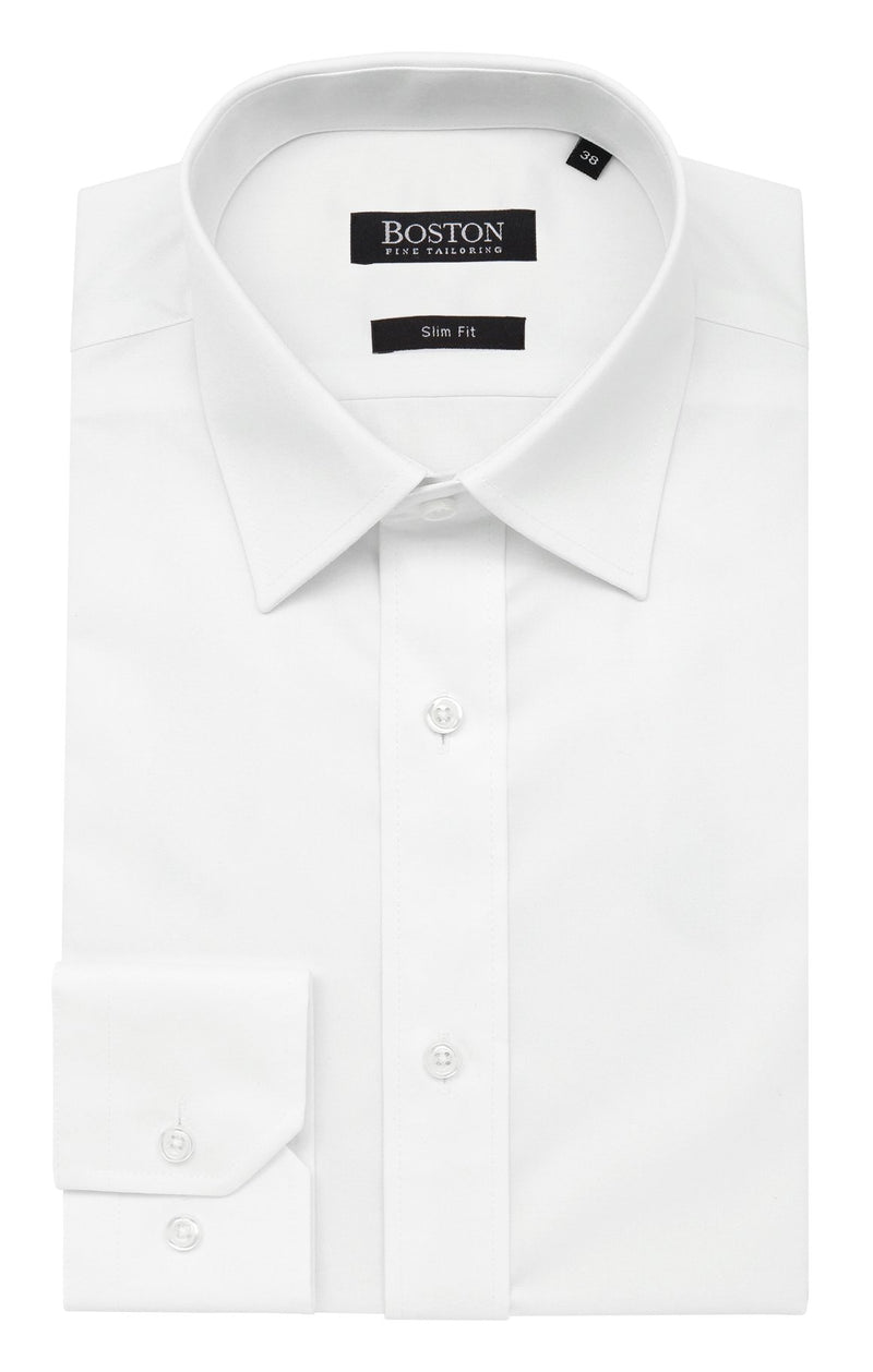 Boston White 5WT Liberty Business Shirt