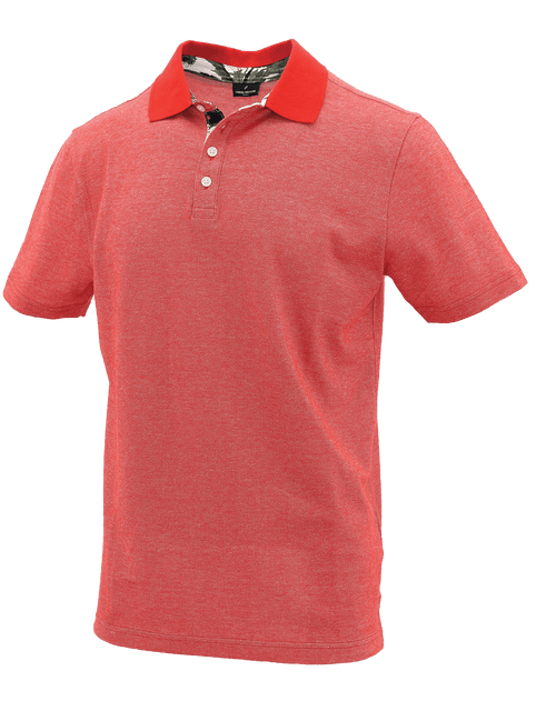 Red Block Polo