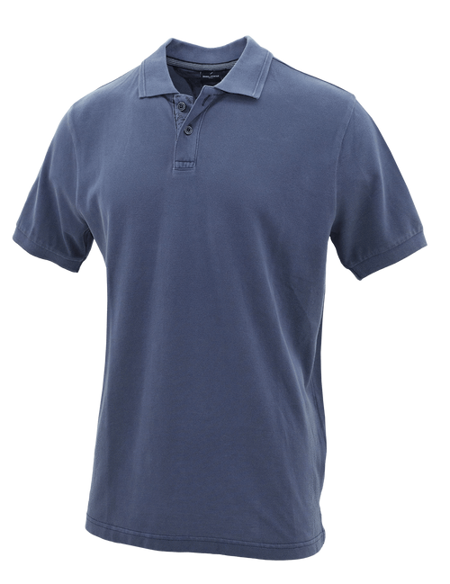 Slate Cotton Polo