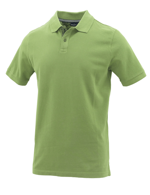Lime Cotton Polo