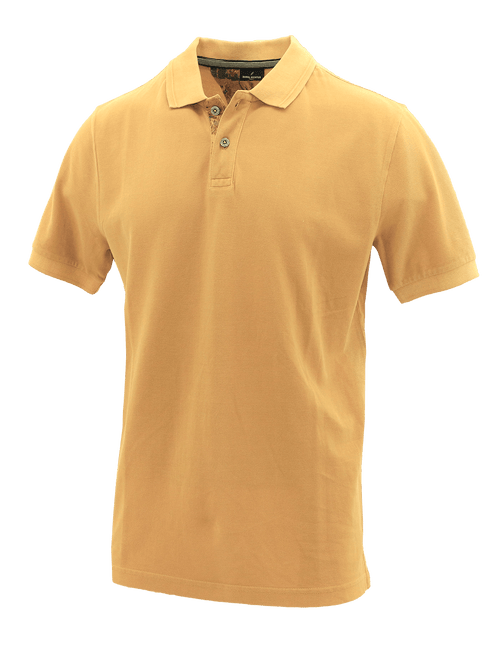 Yellow Cotton Polo