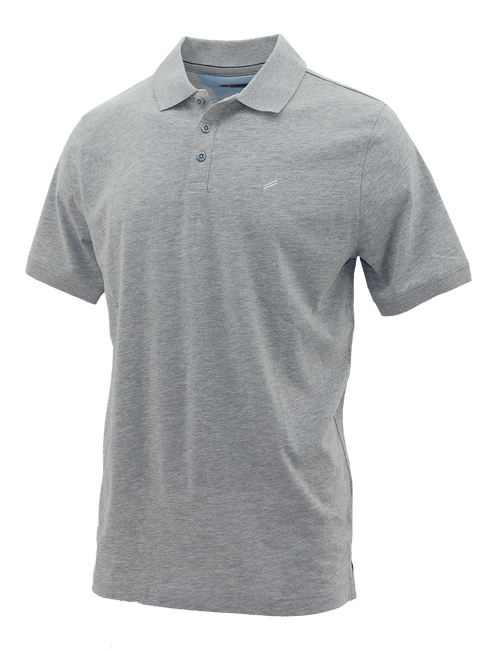 Grey T-Shirt Polo