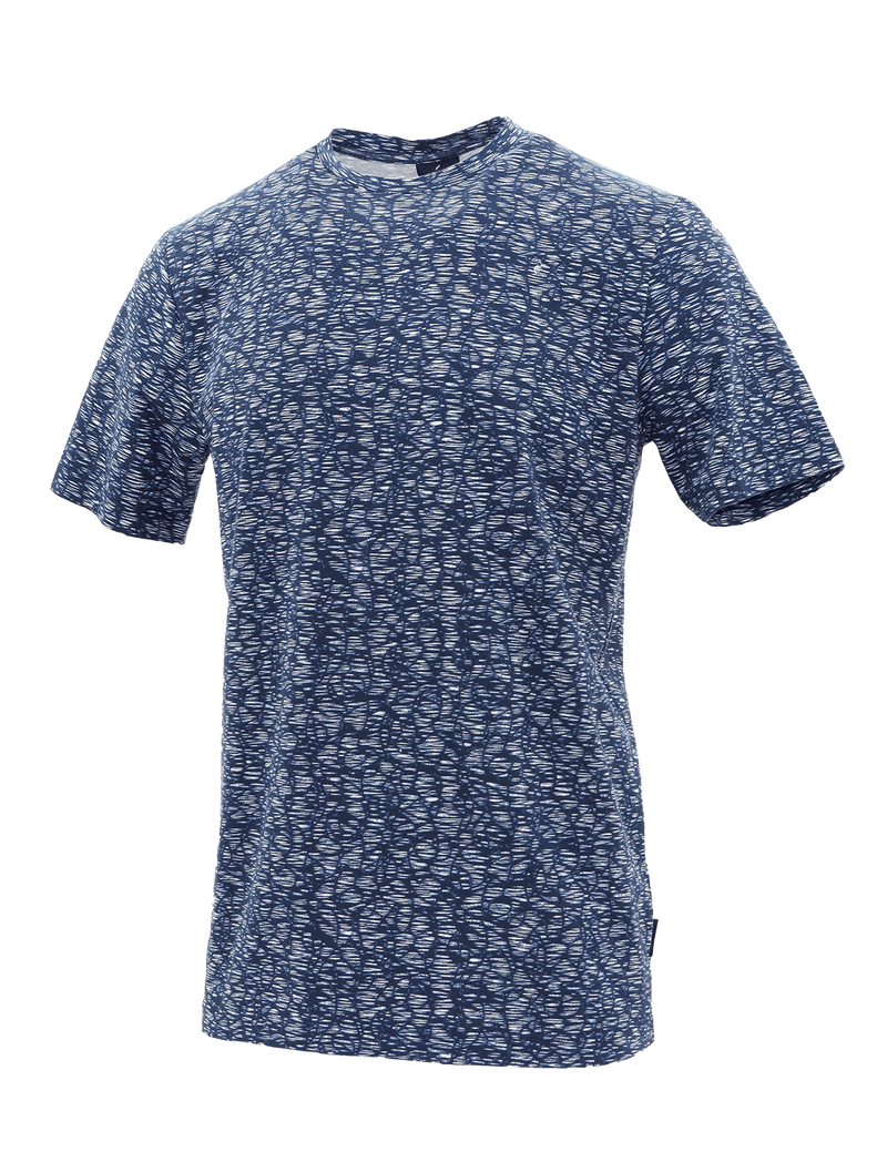 Crew Blue Crazy Paving T-Shirt