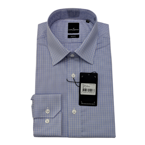 Liberty Business Light Blue Square Shirt