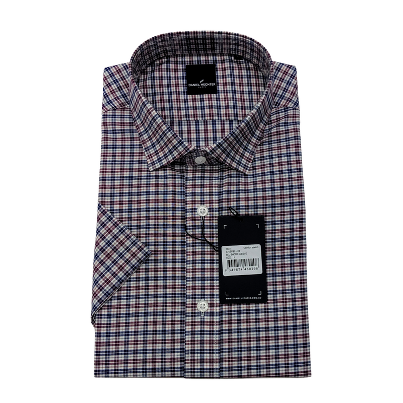Sel Short Sleeve Euro Check Shirt