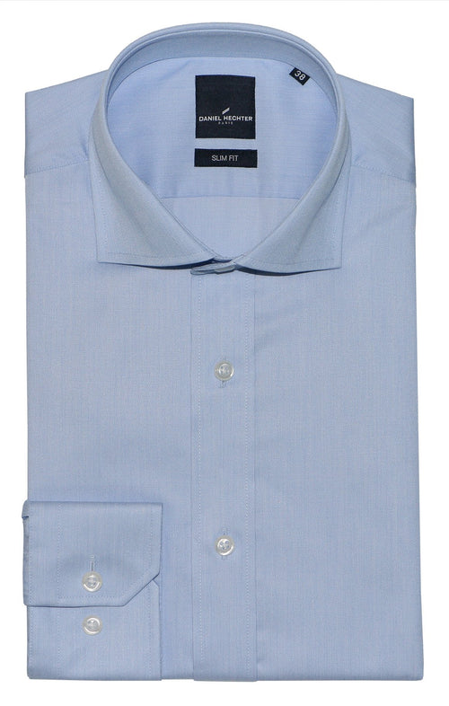 Daniel Hechter Jacque Blue Cotton Shirt