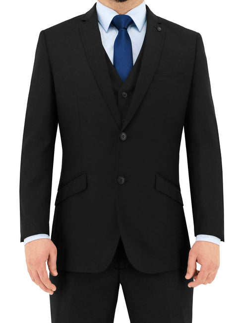 Bond Black Suit Jacket