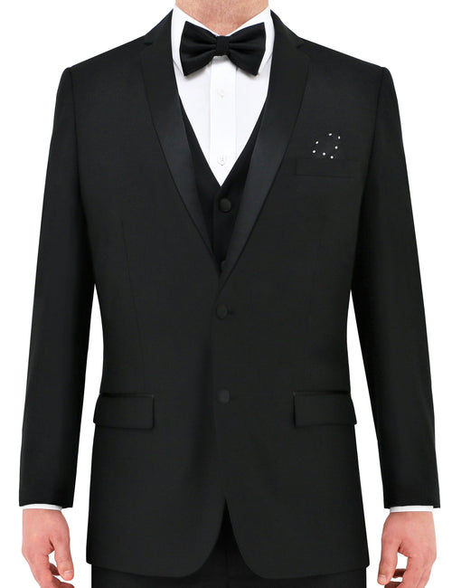 Connor 5ZF Black Dinner Jacket