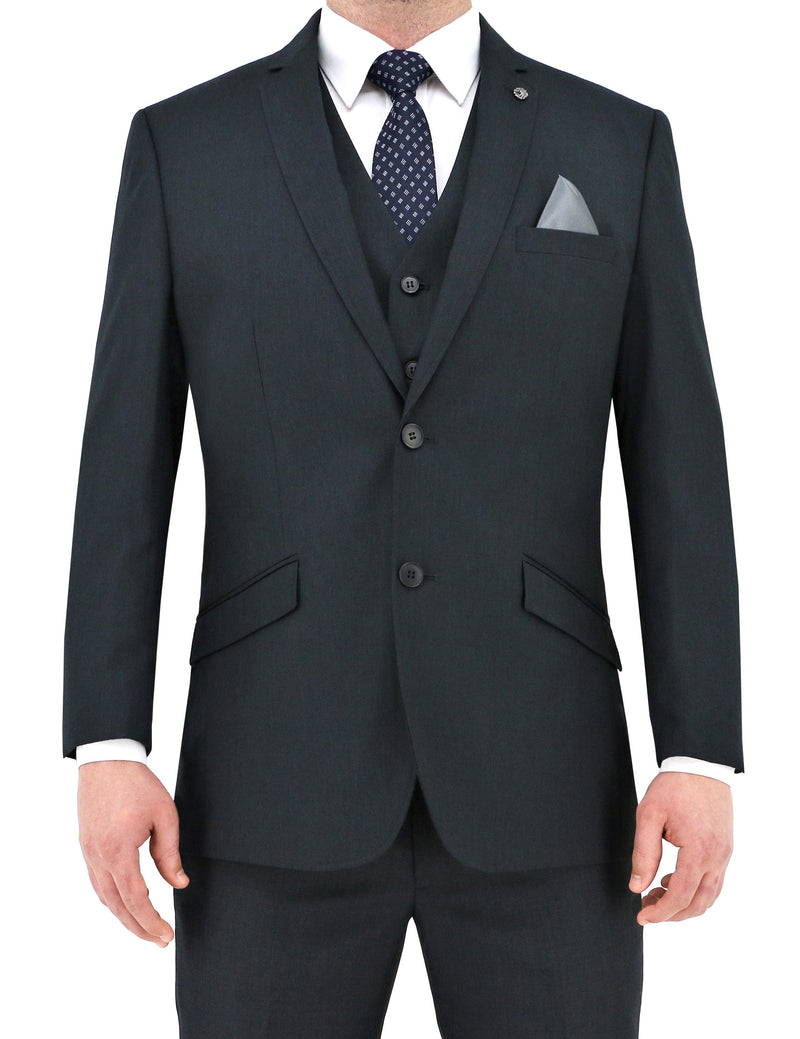 Bond Charcoal Suit Jacket