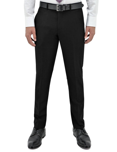 Lyon 106 Black Wool Trouser
