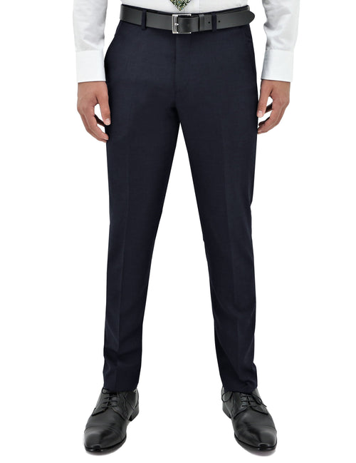 Lyon 106 Midnight Blue Wool Trouser