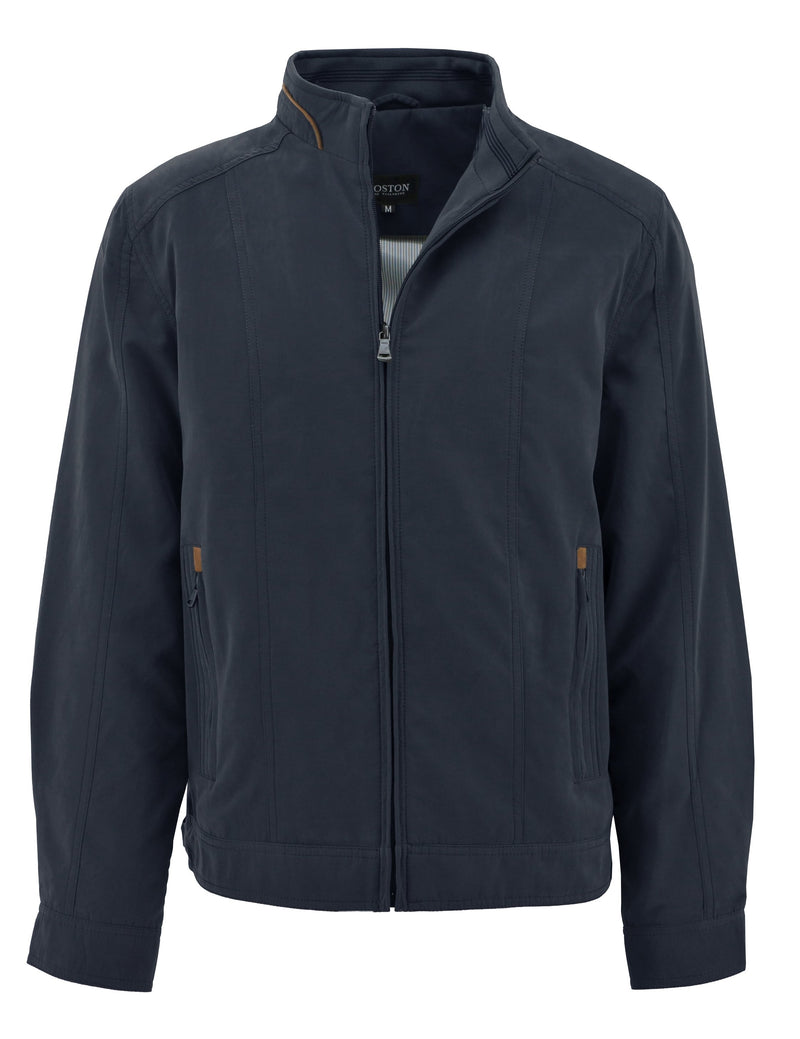 Moss Navy Jacket - Big Man