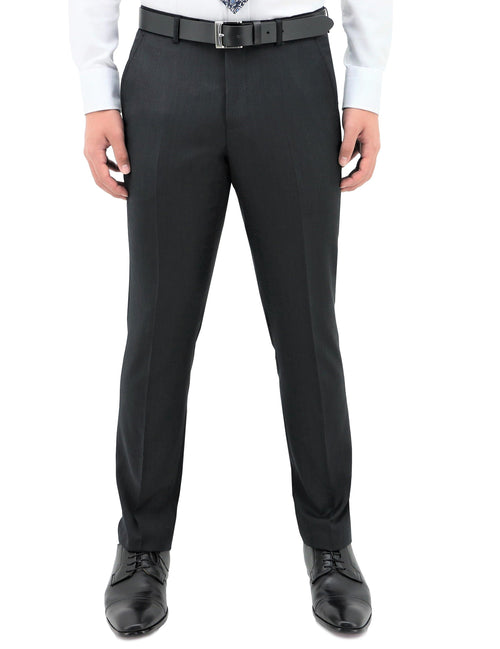 Lyon 101 Black Wool Trouser