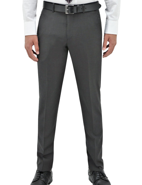 Edward 106 Grey Wool Trouser