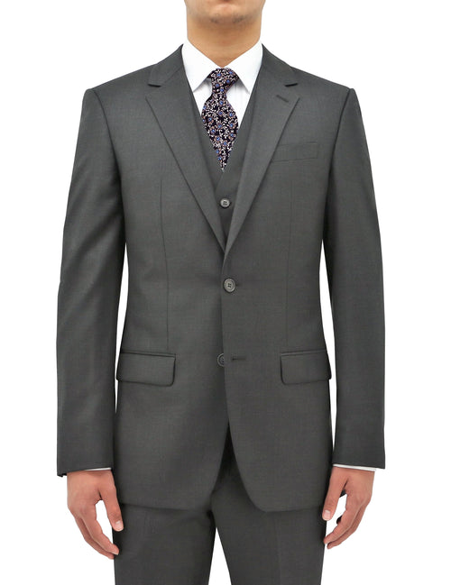 Shape 106 Grey Wool Suit Jacket